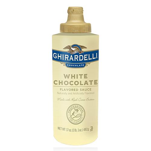 Ghirardelli White Chocolate Sauce  Oz Squeeze Bottle