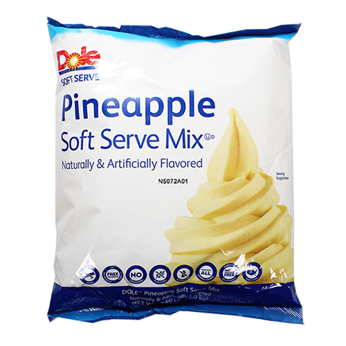 Dole Soft Serve Mix Pineapple 4 4 Lbs Mission Total